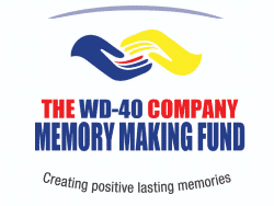 The WD-40 Memory Making Fund logo